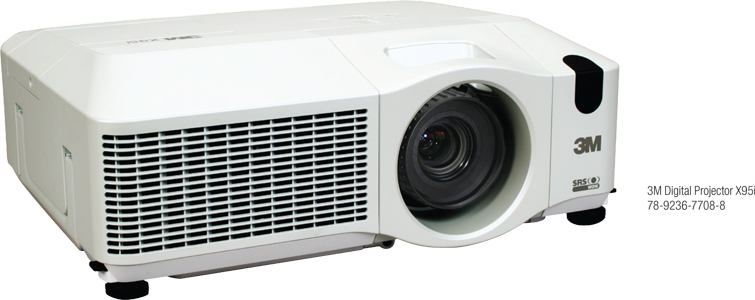 3M Digital Projector X95i
